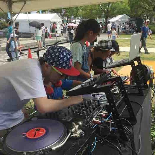 DJ子供体験教室